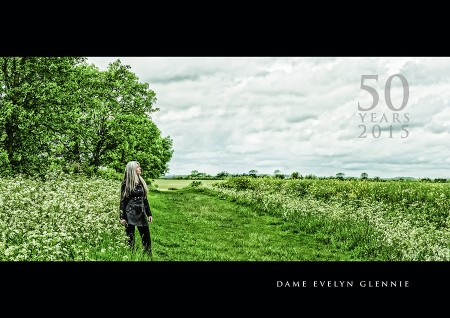 Dame Evelyn Glennie...2015 calendar shoot.
