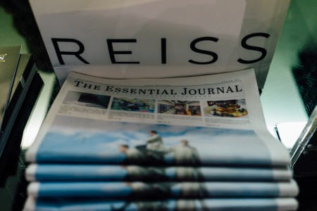 Attitude Men's Hair with The Essential Journal and Reiss