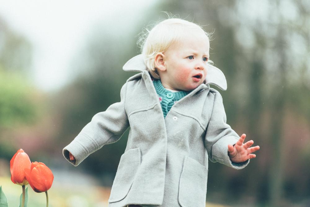 Little girl cute coat